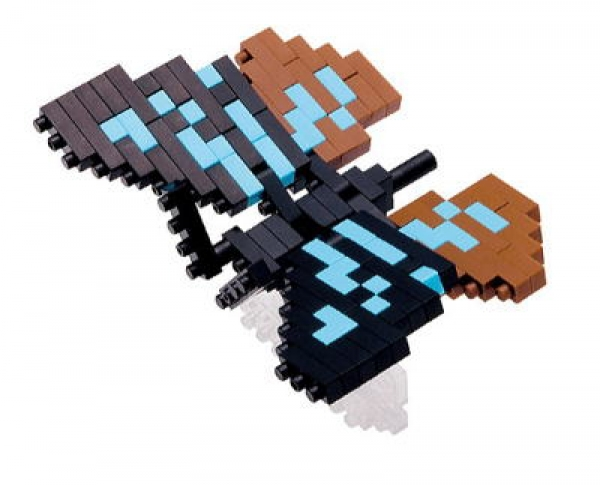 Nanoblock - Chestnut Tiger Butterfly (Level 1)