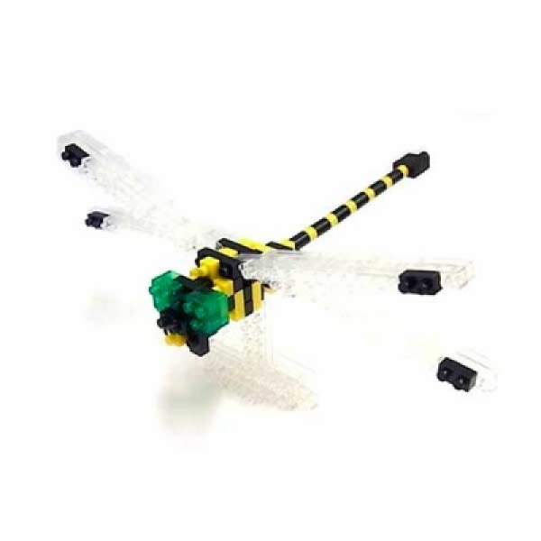 Nanoblock - Golden-ringed Dragonfly (Level 3)
