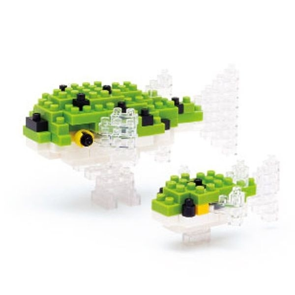 Nanoblock - Green Spotted Puffer (Level 2)