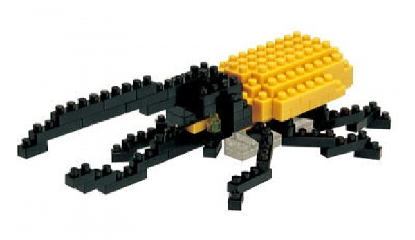 Nanoblock - Hercules Beetle (Level 2)