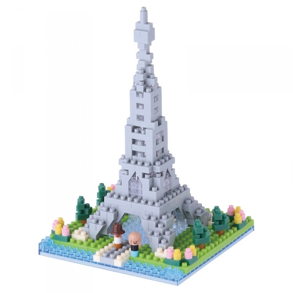Nanoblock - Rives de la Seine (Level 2)