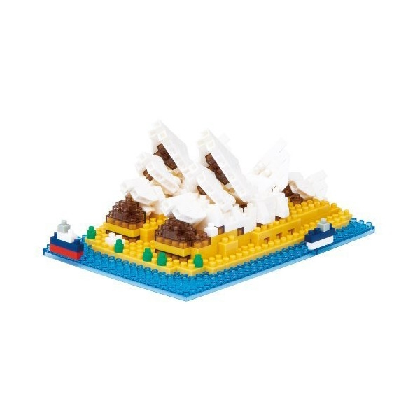 Nanoblock - Sydney Opera House (Level 4)