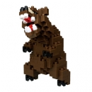Nanoblock - Grizzly Bear (Level 3)