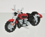Nanoblock - Motorcycle (Level 5)