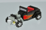 Nanoblock - Hot Rod (Level 3)