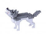 Nanoblock - Gray Wolf (Level 2)