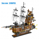 6710 Lele Brother - The Pirat Ship Sea Cow (Ohne Box)