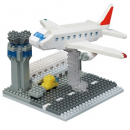 Nanoblock - Sights NANOBLOCK Airport (Level 3)