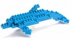 Nanoblock - Bottlenose Dolphin (Level 1)