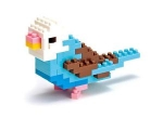 Nanoblock - Budgerigar Blue Opaline (Level 1)
