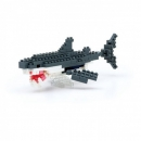 Nanoblock - Great White Shark (Level 3)