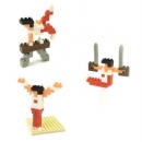 Nanoblock - Gymnastics (Level 2)(nbcb005)