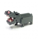 Nanoblock - Hippopotamus (Level 2)