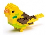 Nanoblock - Budgerigar Yellow (Level 1)