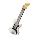 Nanoblock - Electric Bass White (Level 1)(NBC205)