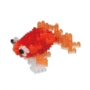 Nanoblock - Popeyed Goldfish Red (Level 3)