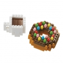 Nanoblock - Donut & Coffee (Level 1)