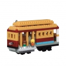Nanoblock - San Francisco Cable Car (Level 3) - NBH_132