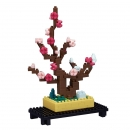 Nanoblock - Plum Bonsai (Level 2) - NBH_134