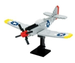 Nanoblock - P51 Mustang (Level 3)