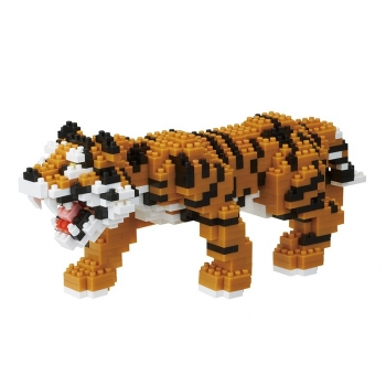 Nanoblock - Bengal Tiger - Animal Deluxe (Level 5)