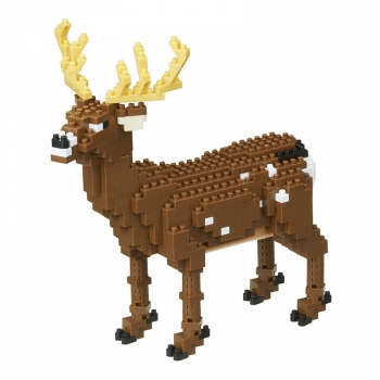 Nanoblock - Deer - Animal Deluxe (Level 4)